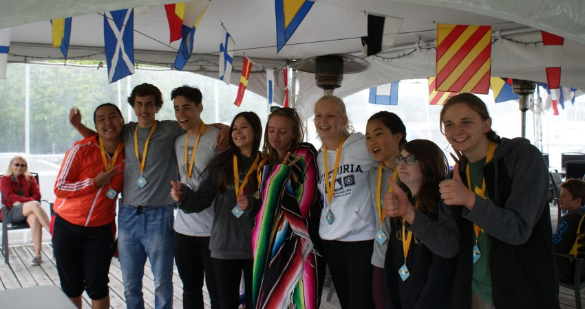 Discovery Island regatta champions……..