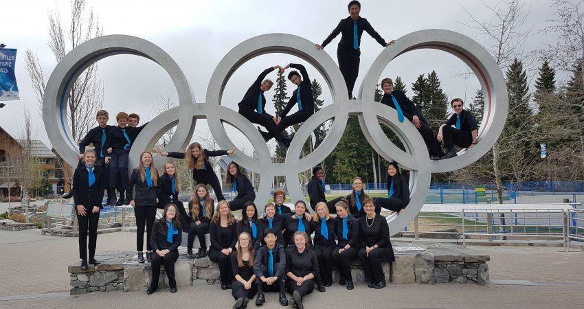 "Grade 9 Tour Choir wins ""Silver"" at Whistler Music Festival"